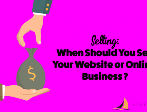 When You Should Sell Your Website or Online Business
