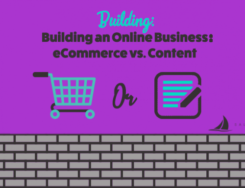 Building an Online Business: eCommerce vs. Content Monetization